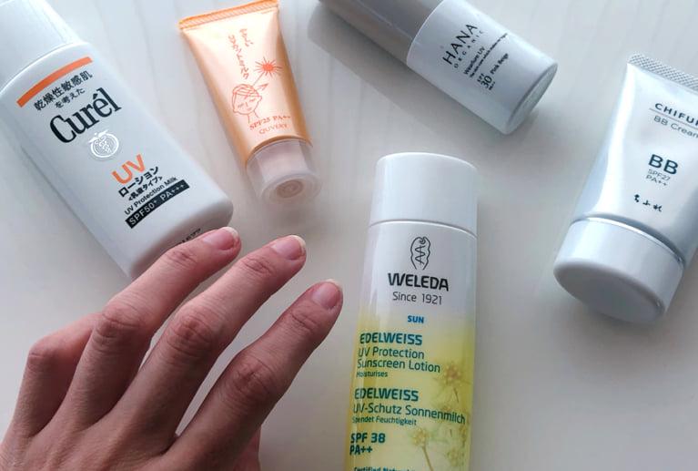 【4つの敏感肌タイプ別】あなたの敏感肌に合った日焼け止めの選び方