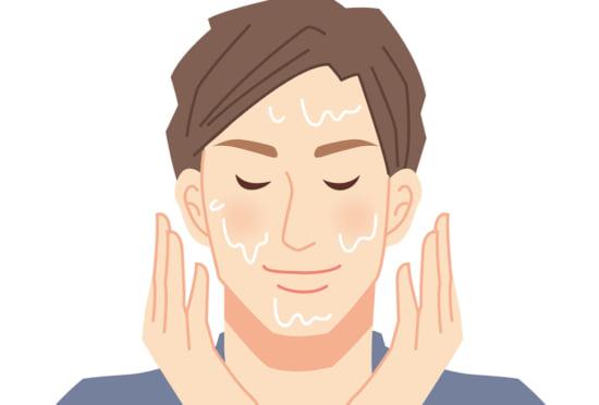 肌荒れを防ぐ髭の剃り方⑥