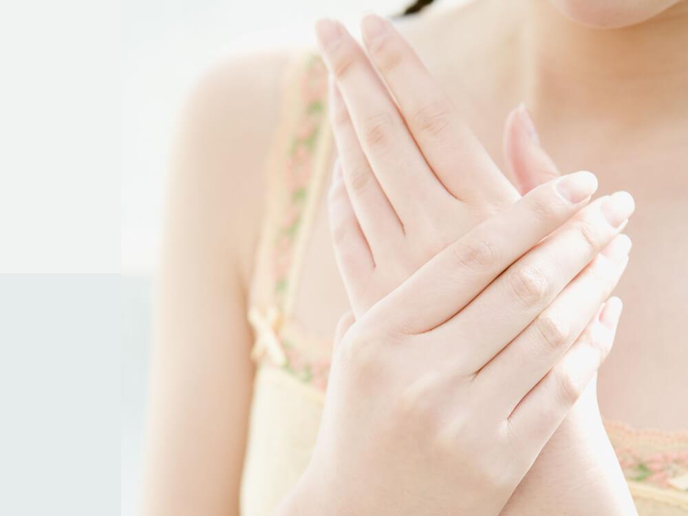 手の乾燥対策