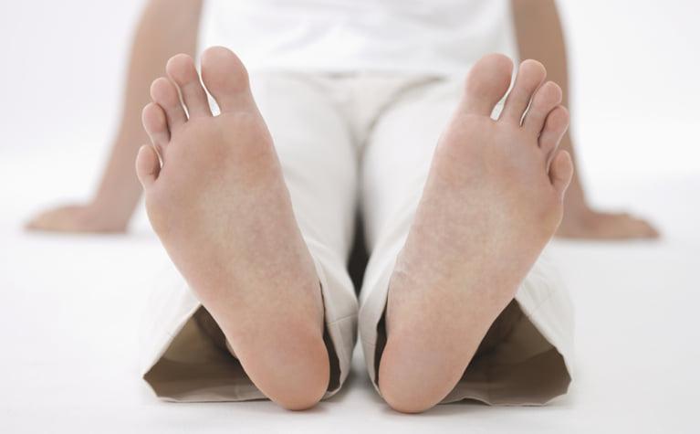 足の乾燥対策