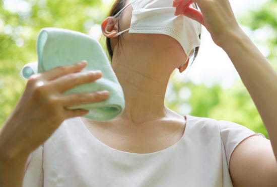 夏の汗・皮脂やマスクの化粧崩れ対策