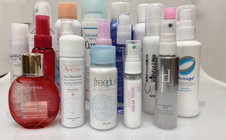 ミスト化粧水の選び方