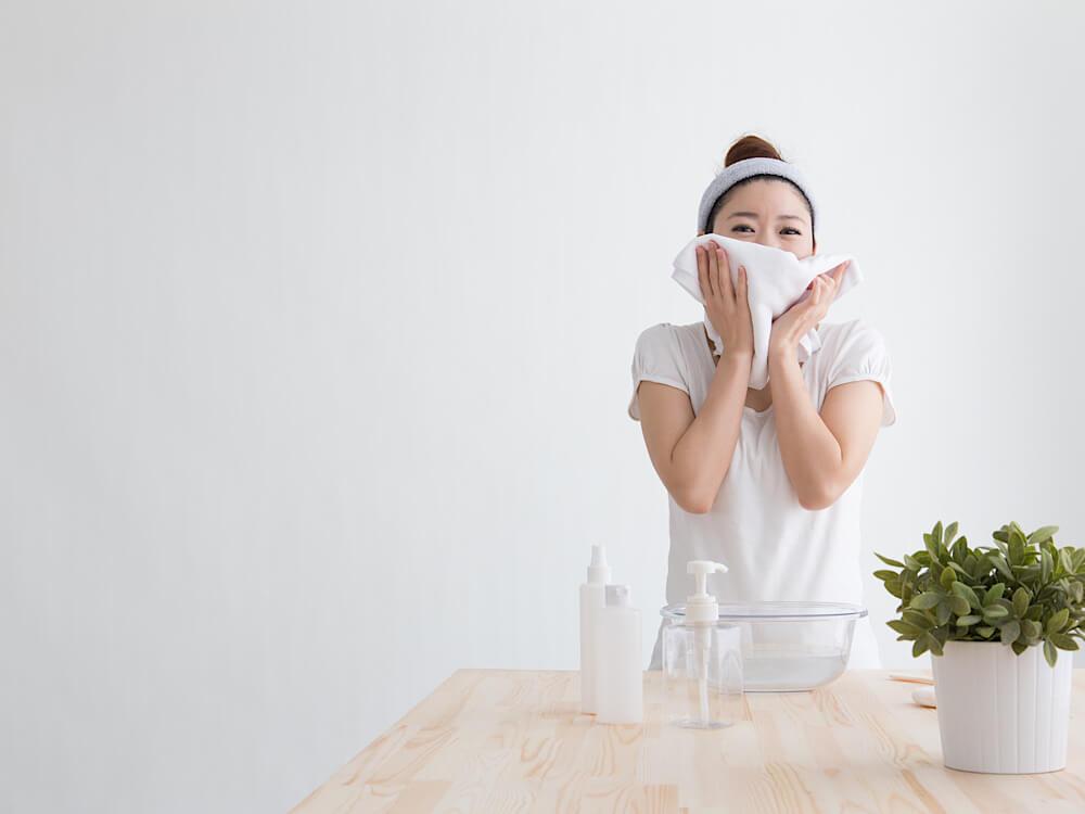 洗顔は一日2回まで
