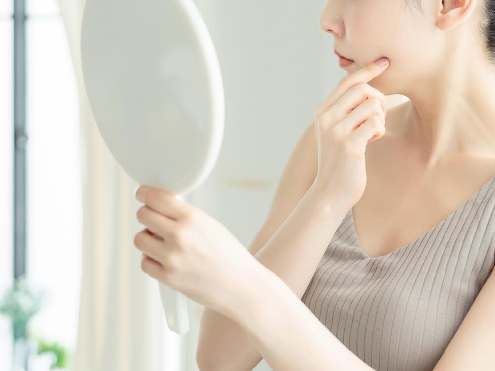 カサカサ肌の原因と対策