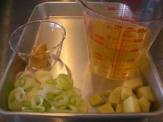 レシピ3の材料PHOTO